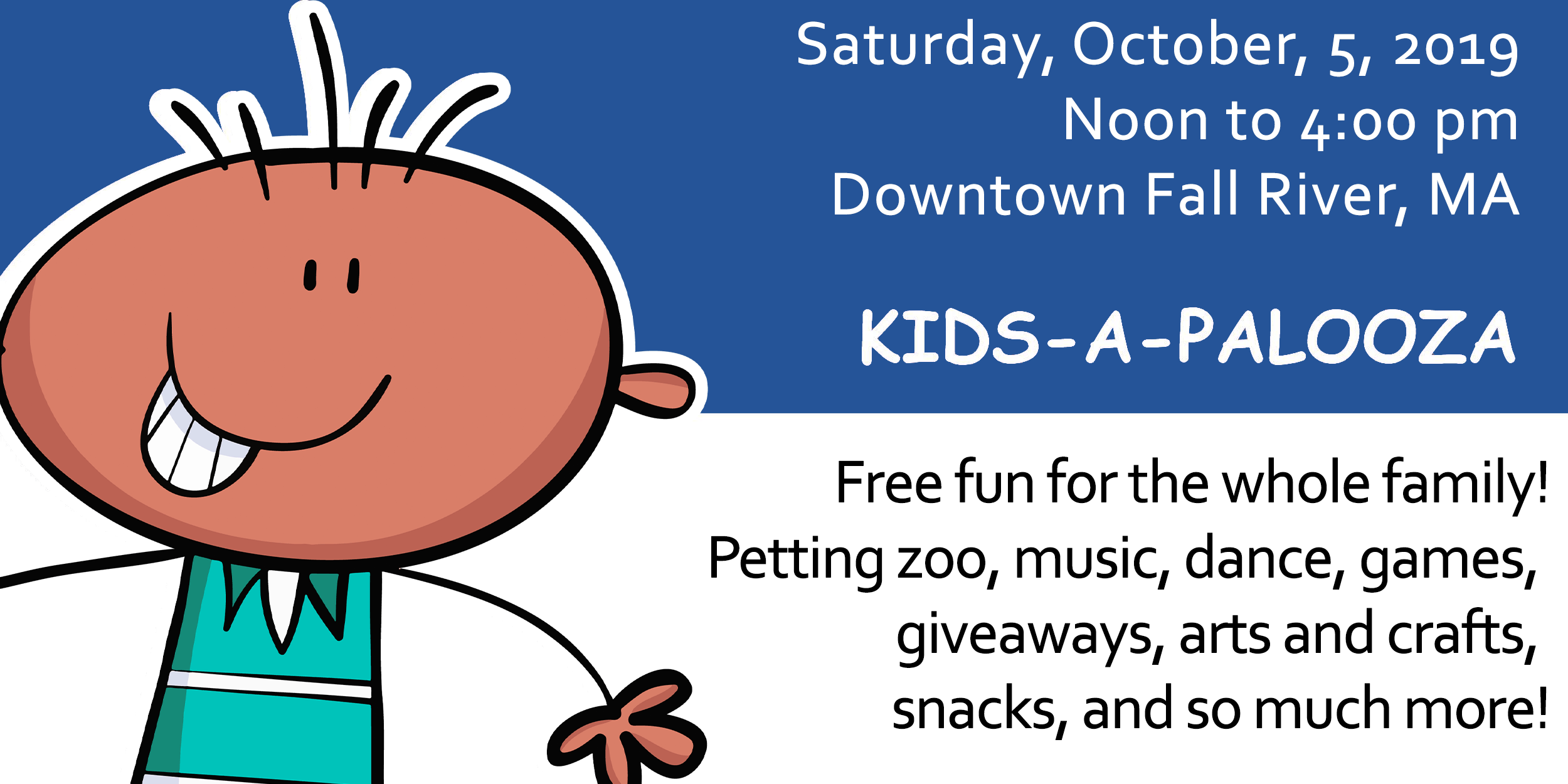 Kids A Palooza event promo