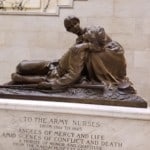 a statue for the Army Nurses