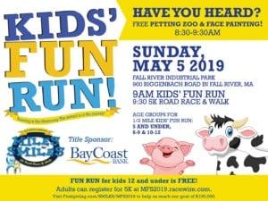 Kids' Fun Run flyer