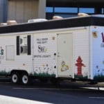 a Kids Fire Safety House trailer