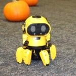 small yellow robot