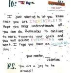 Jasmine letter